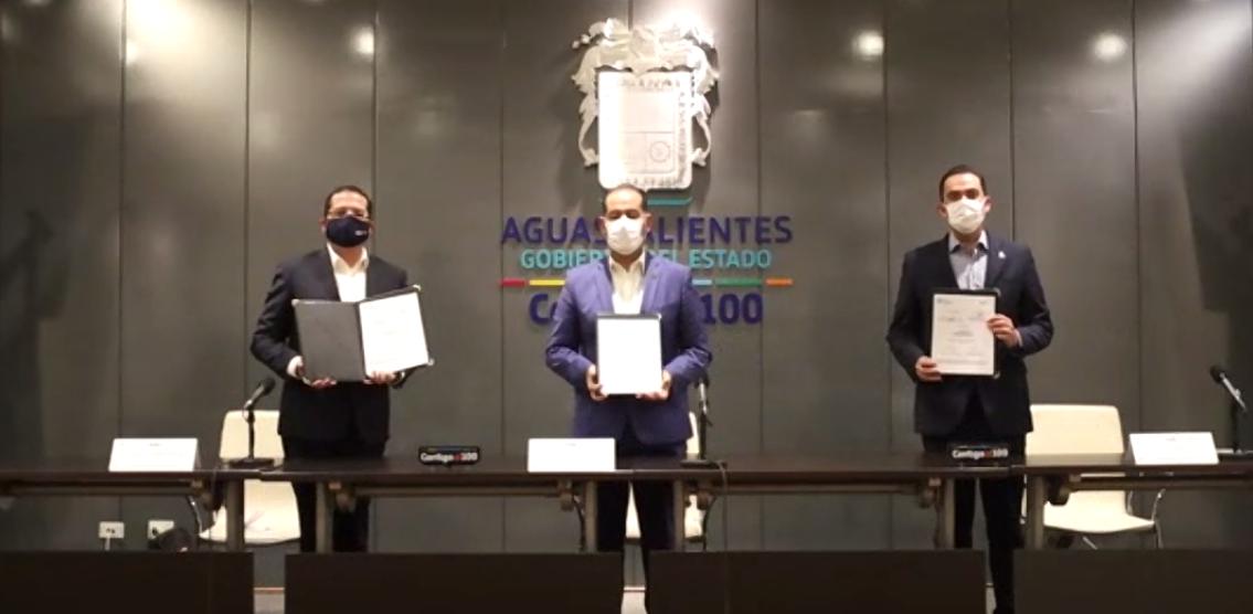 FedEx y Aguascalientes firman convenio en pro de las Pymes