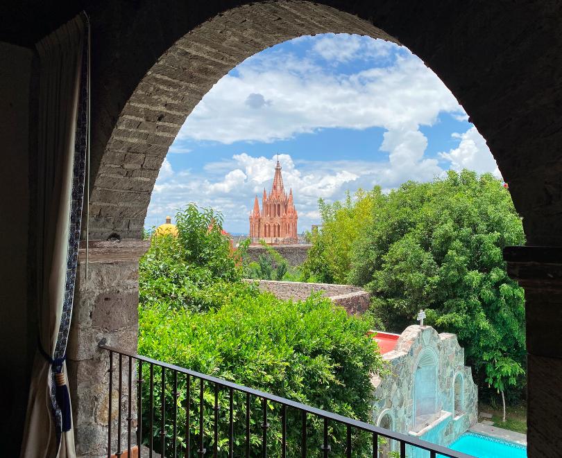 Con San Miguel de Allende en el Alma