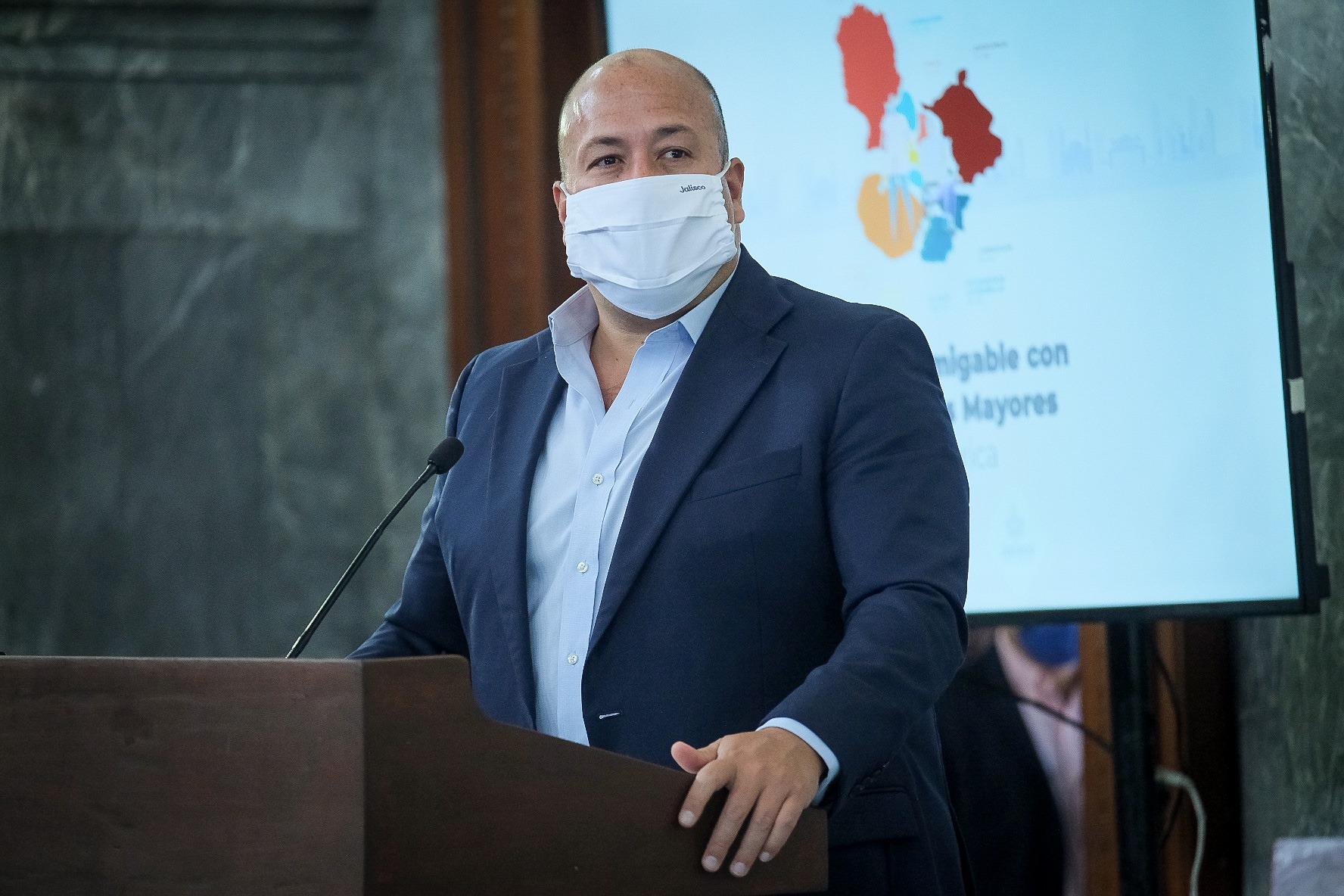 Jalisco no tiene deuda con el SAT: Enrique Alfaro