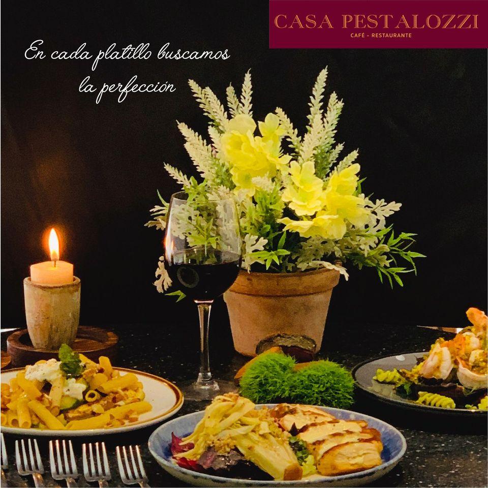 Casa Pestalozzi un deleite de sabores
