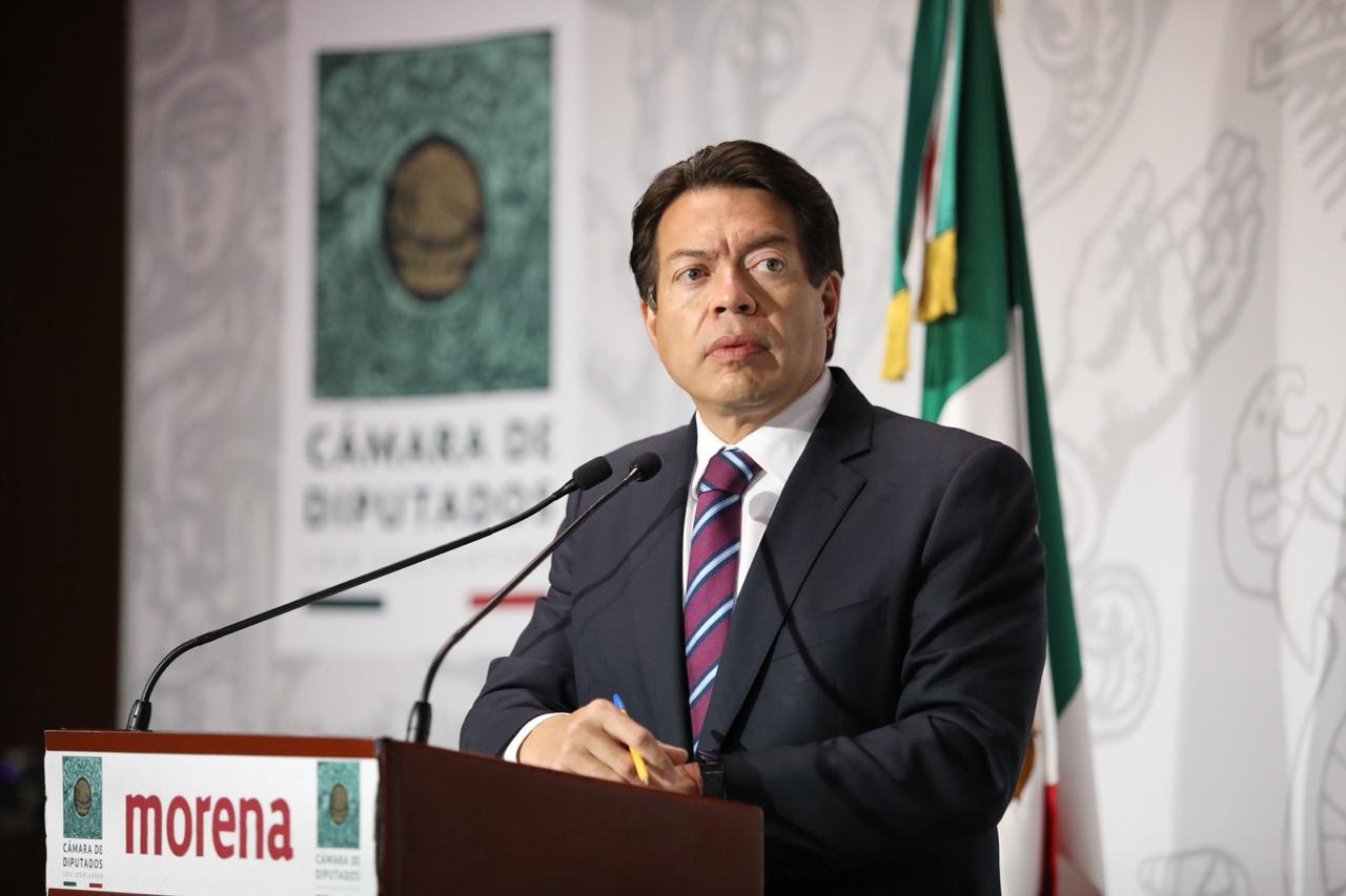 Mario Delgado gana encuesta del INE