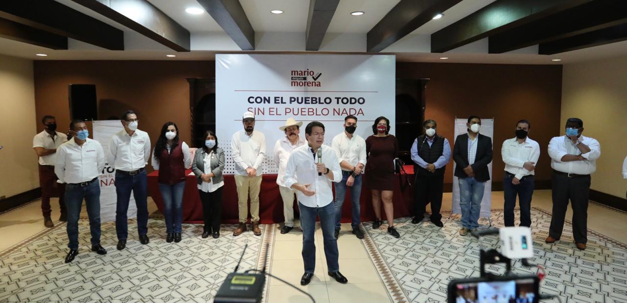 Mario Delgado denunció públicamente ataques de Muñoz Ledo