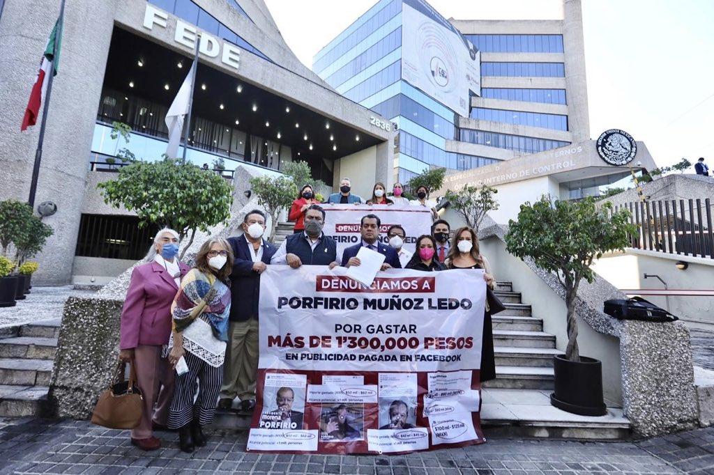 Mario Delgado denunció a Muñoz Ledo por gastar 1.3 mdp en campaña