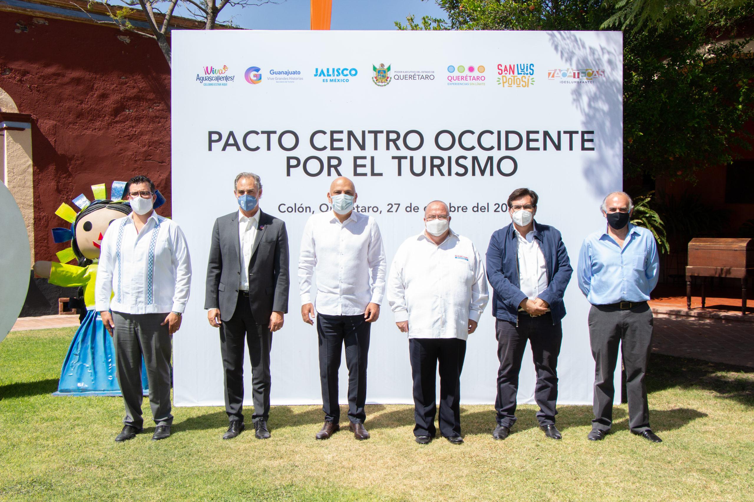 Turismo responsable estandarte del Pacto Centro Occidente