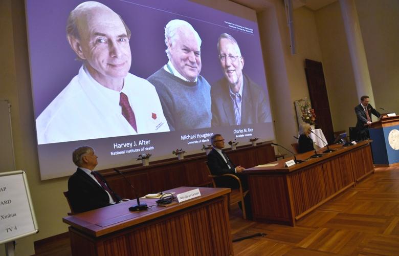 Científicos que descubrieron virus de Hepatitis C ganan Premio Nobel