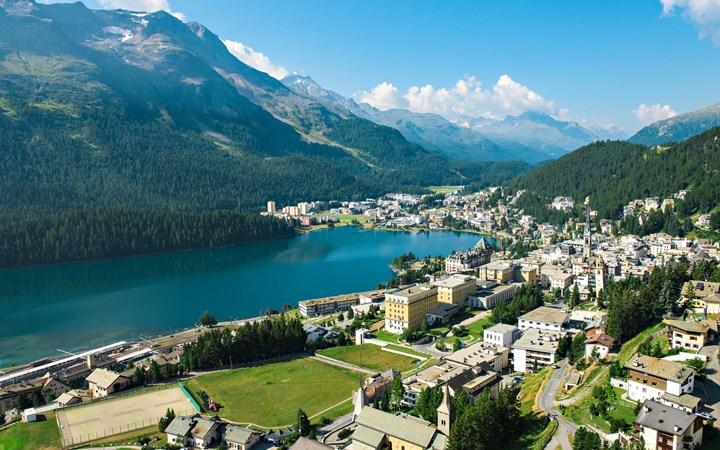 St. Moritz en Verano, un paraíso en la tierra