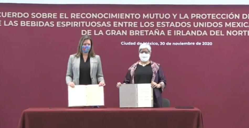 México y Reino Unido reconocen denominación de bebidas espirituosas