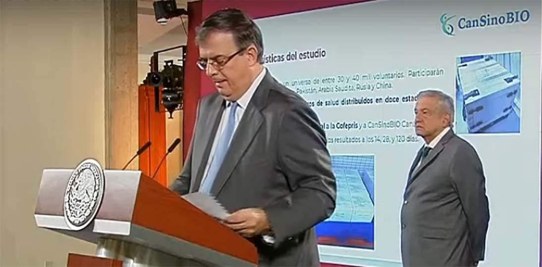 Vacuna de CanSino Biologics contra Covid-19 llega a México