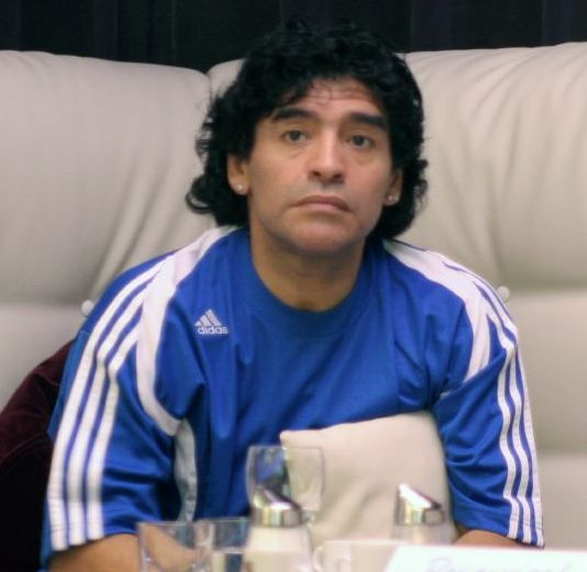 Maradona y su estilo de liderazgo