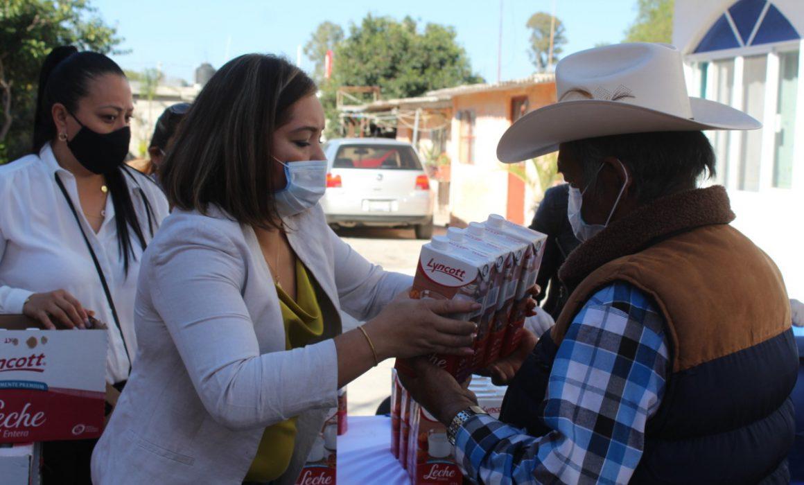 DIF entregó 17 mil 700 litros de leche en Querétaro