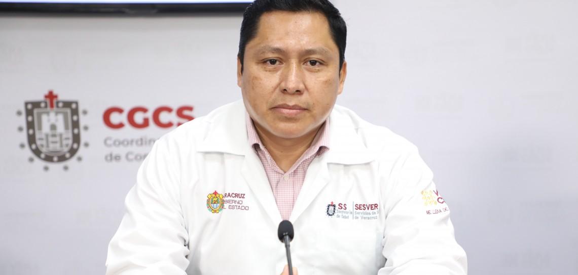 38 mil 689 casos positivos de COVID-19 en Veracruz
