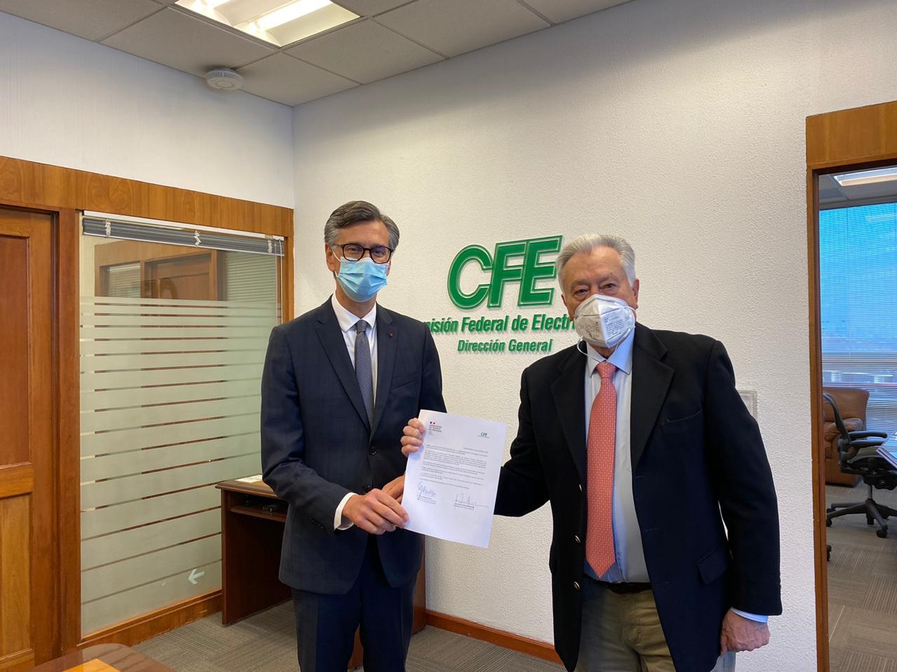 CFE y Francia desarrollarán energía geotérmica