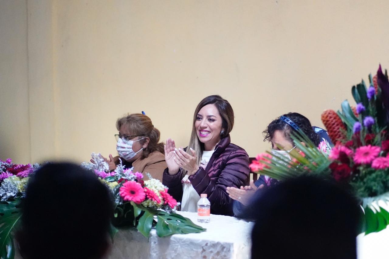 Lorena Cuéllar a gubernatura de Tlaxcala es una imposición: Dulce Silva