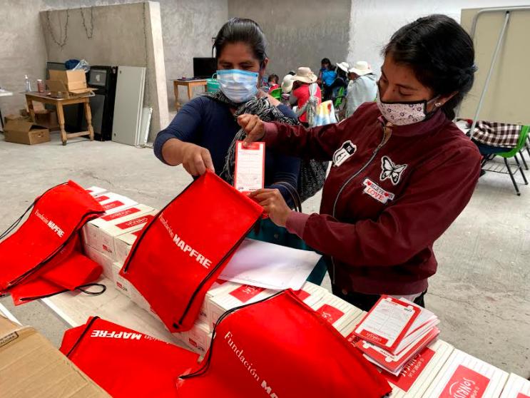 Fundación Mapfre lucha contra la desnutrición infantil