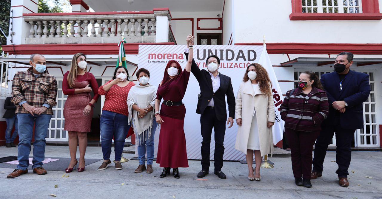 Layda Sansores la candidata de Morena para Campeche
