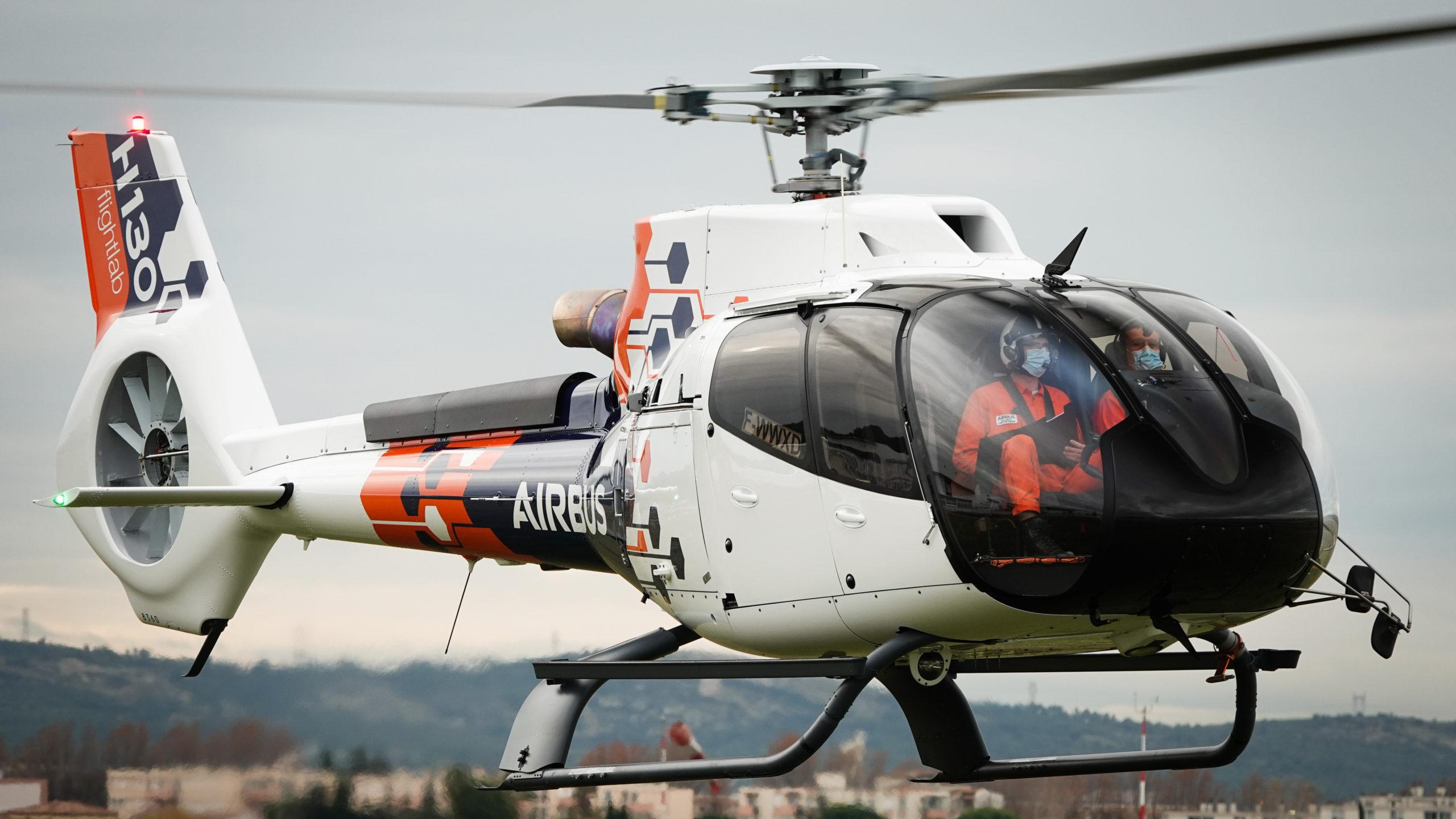 Airbus prueba la tecnología del futuro en sus helicópteros
