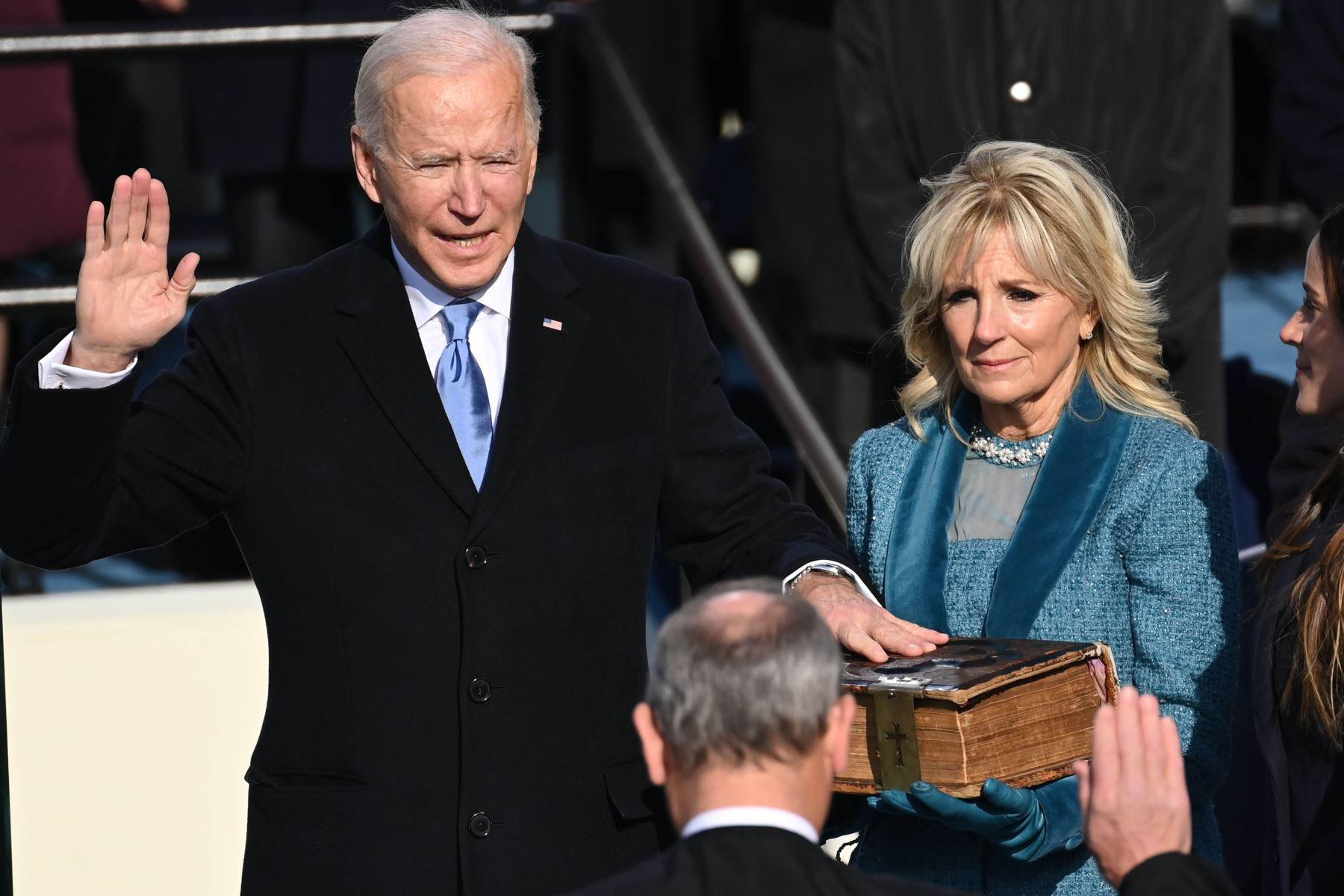 La democracia ha ganado: Joe Biden