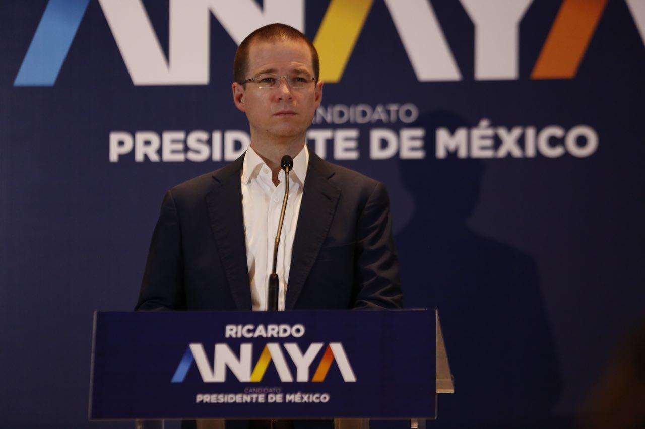 Ricardo Anaya volverá a buscar la presidencia en 2024