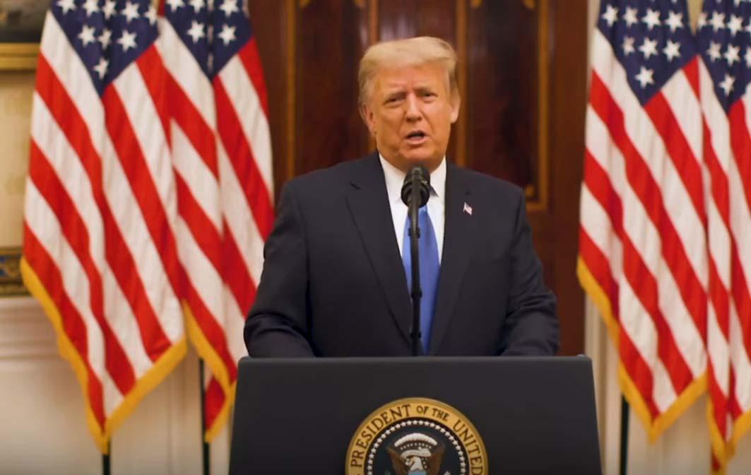 Para mi es un honor haber sido su presidente: Donald Trump