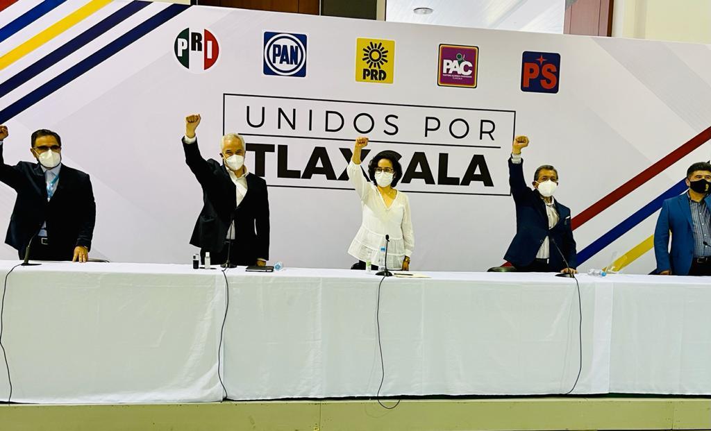 Anabell Ávalos candidata de Unidos por Tlaxcala