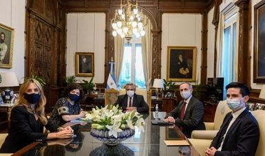 México y Argentina intercambian información sobre COVID-19 y su vacuna