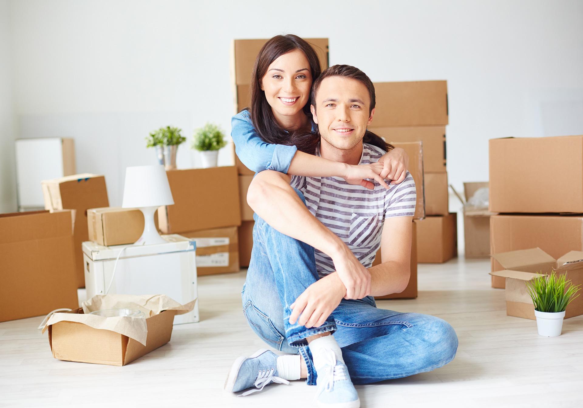 Espacios de la casa cuando se vive en pareja