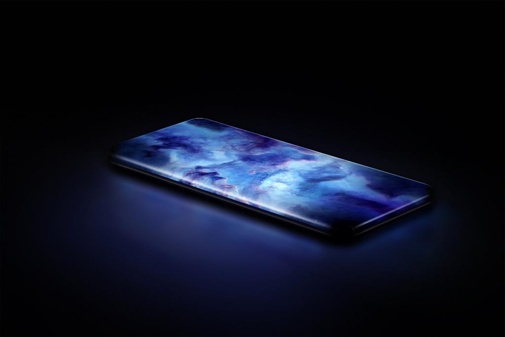 Conoce el smartphone conceptual con pantalla de cascada