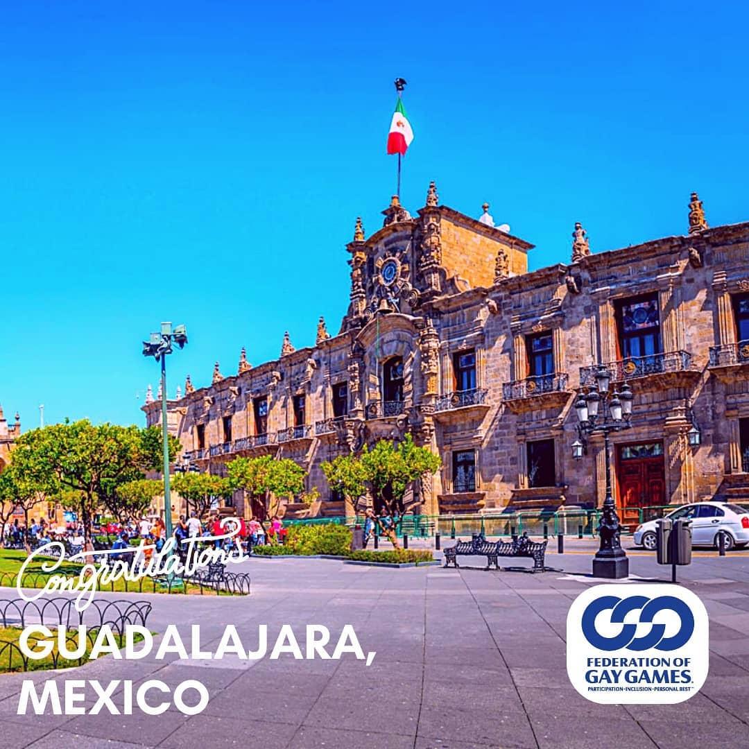 Finalista Guadalajara para los Gay Games 2026