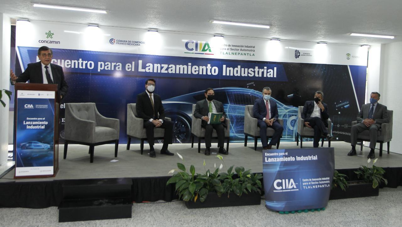 Concamin inauguró centro de innovación industrial