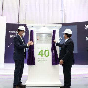 Siemens Energy suma 40 años en Guanajuato