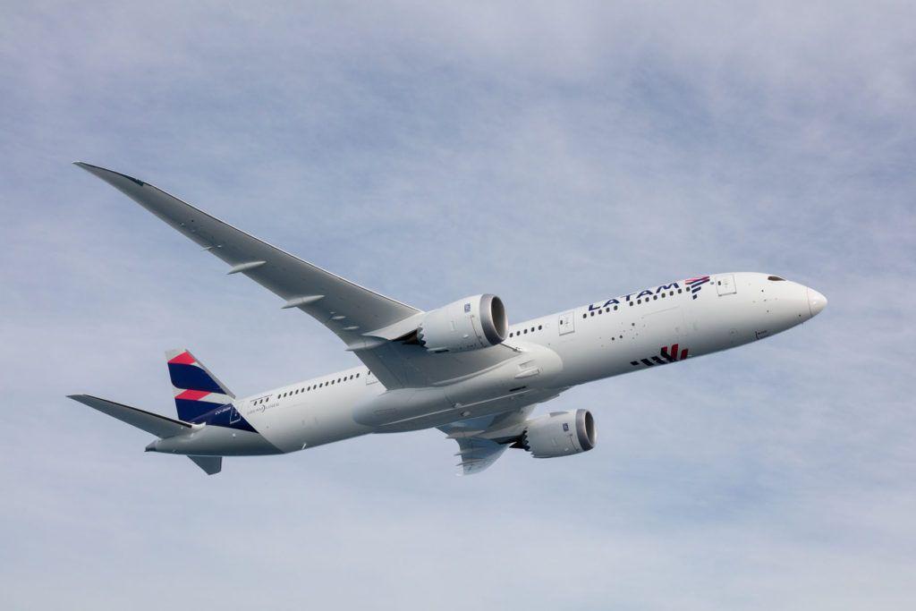 Latam Airlines es reconocida por su estándar de seguridad
