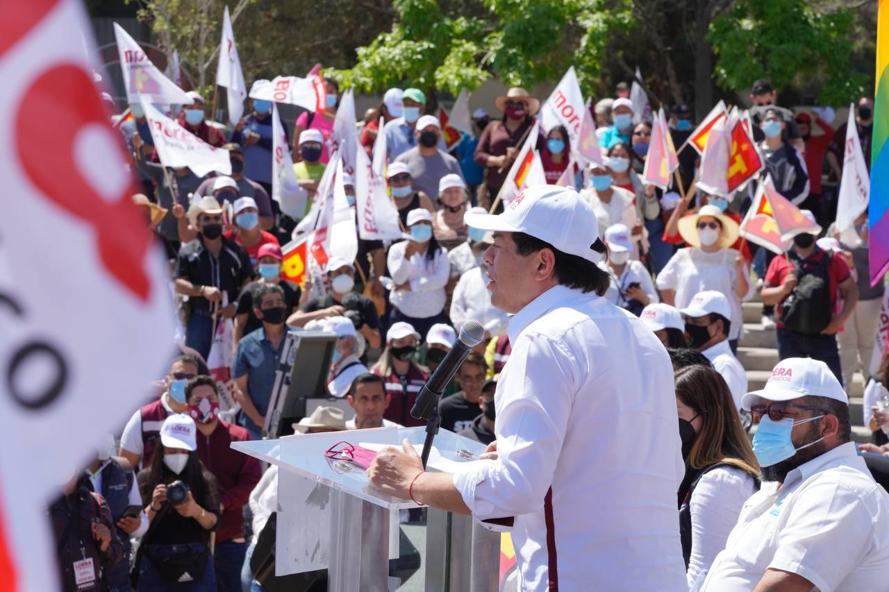 En próximas elecciones se debe fortalecer la esperanza: Morena