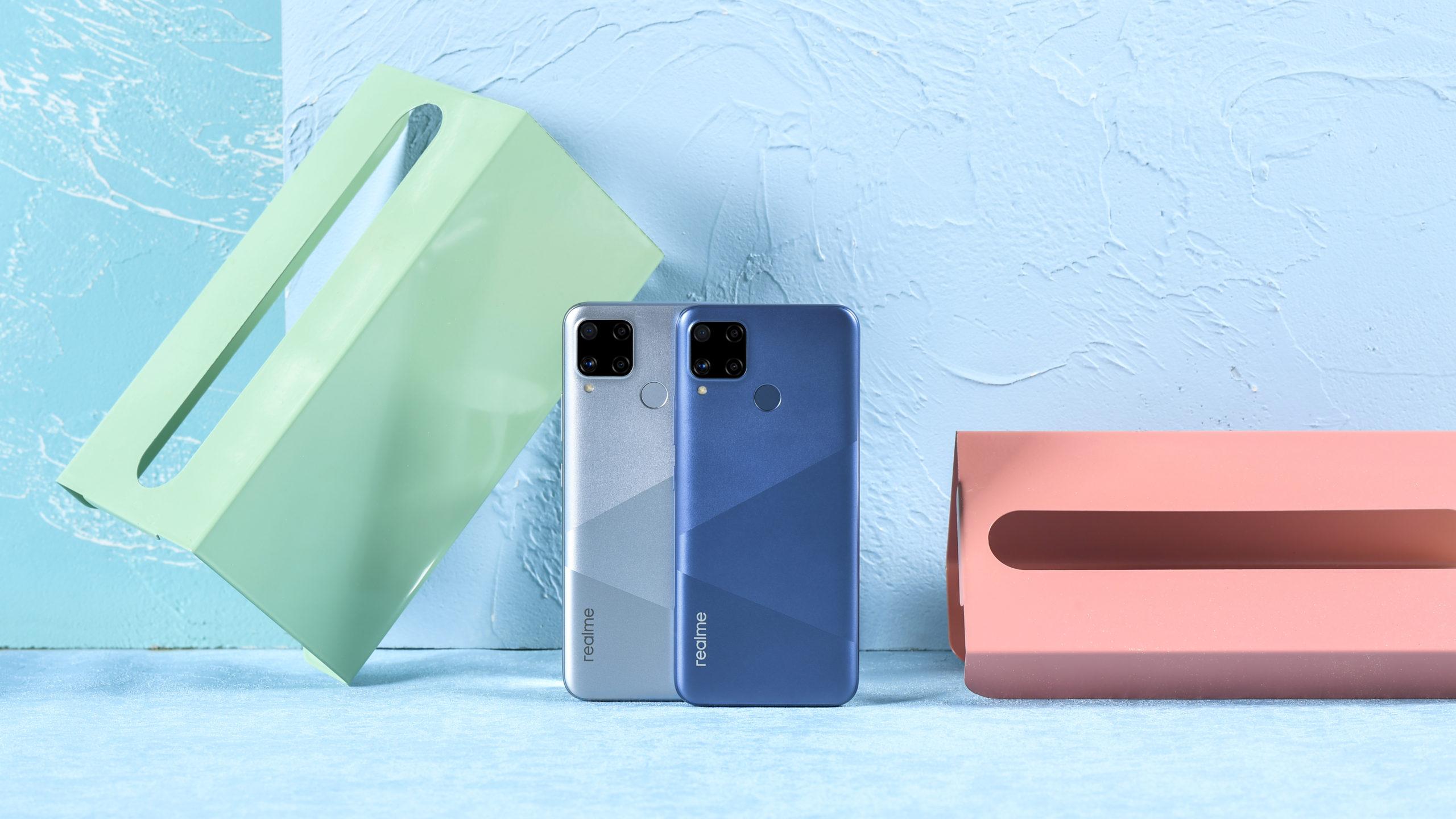 Mantente conectado con los nuevos smartphones de realme