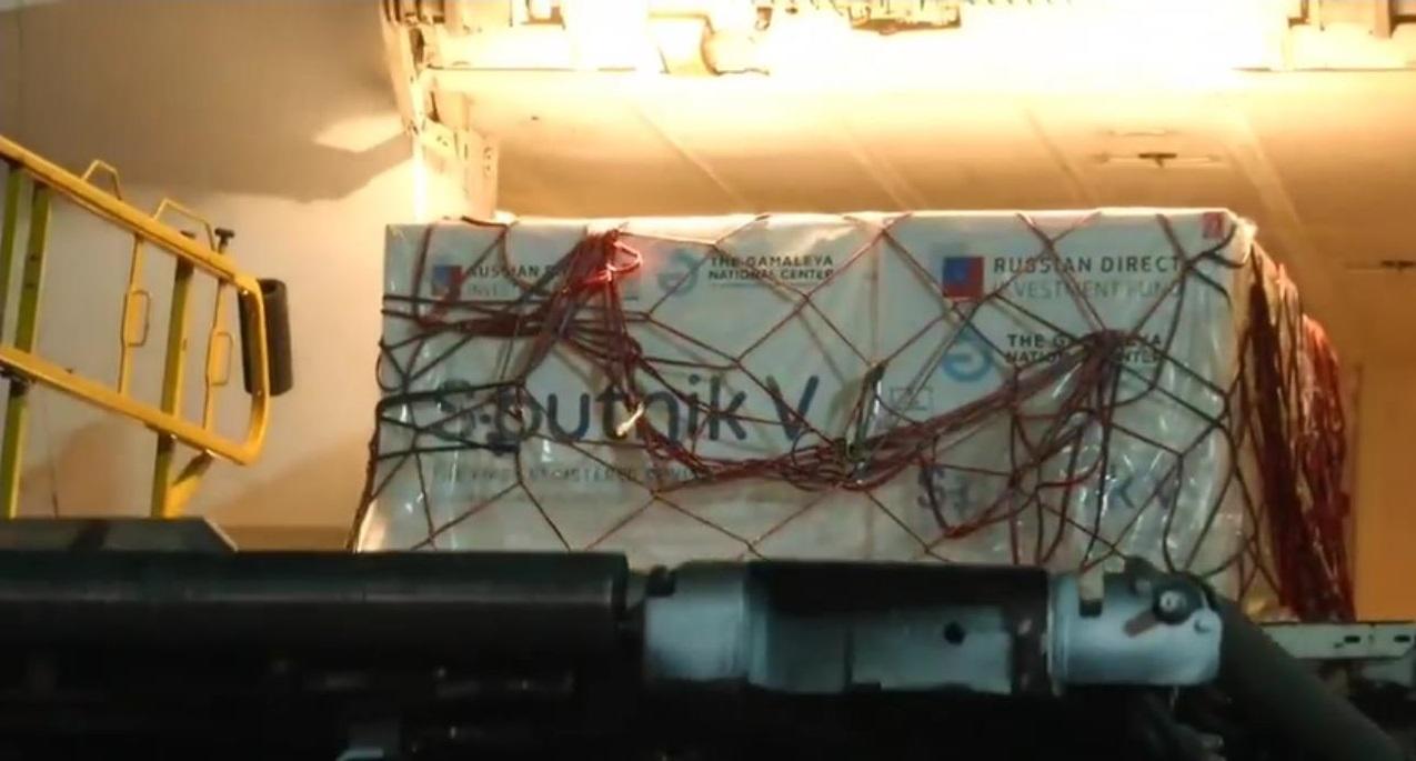 800 mil vacunas más de Sputnik V llegan a México