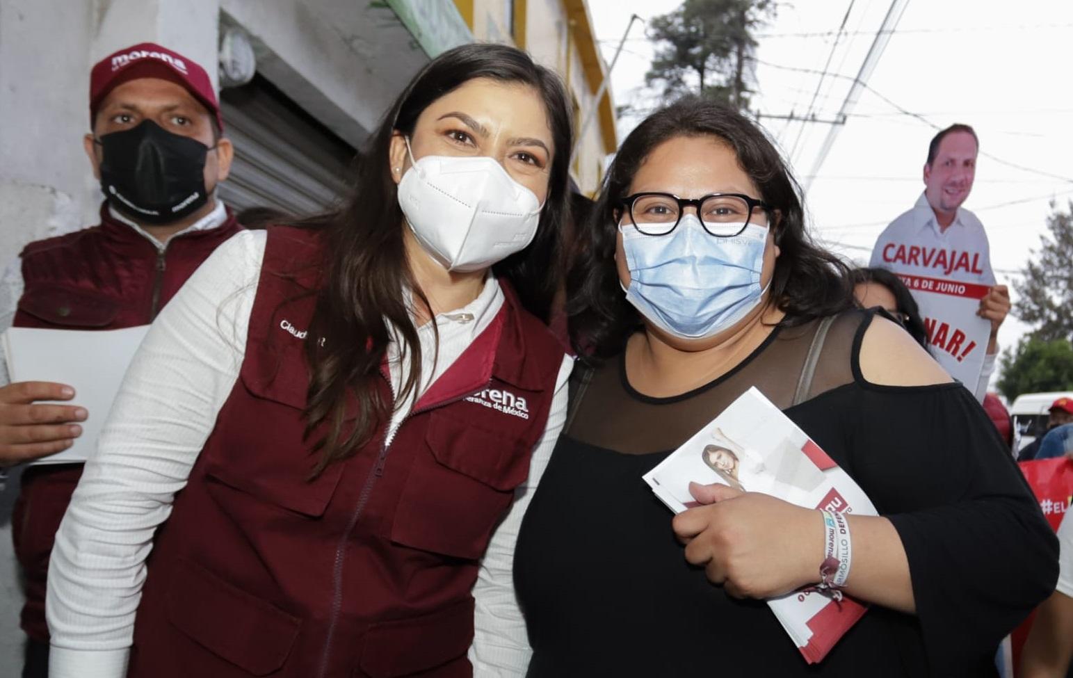 Claudia Rivera denuncia ataques de Miguel Barbosa
