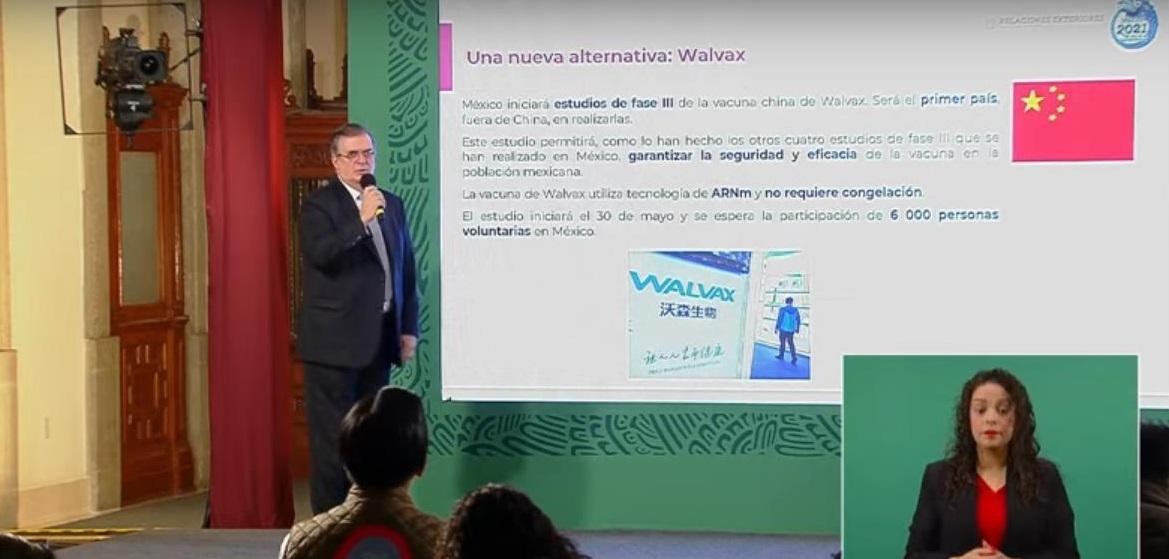 México participará en estudio fase 3 de la vacuna Walvax