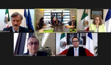 México y Francia llevan a cabo Diálogo Económico de Alto Nivel