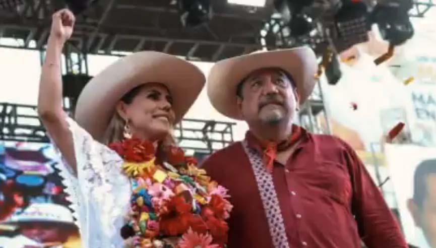Evelyn Salgado se dice la nueva gobernadora de Guerrero