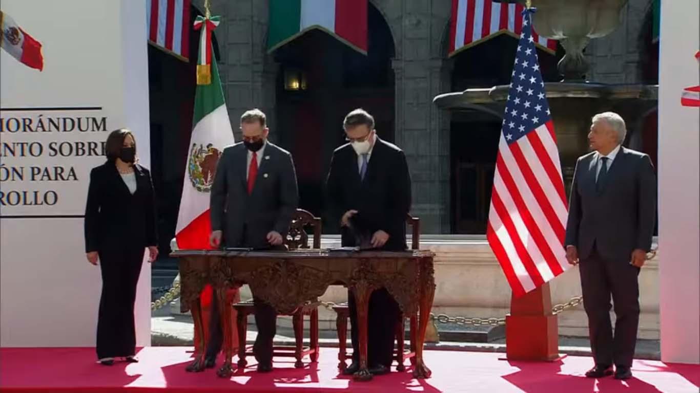 FOTOS: México y EU firman memorándum de entendimiento