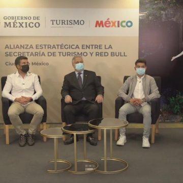 Secretaría de Turismo y Red Bull se unen para promover destinos mexicanos