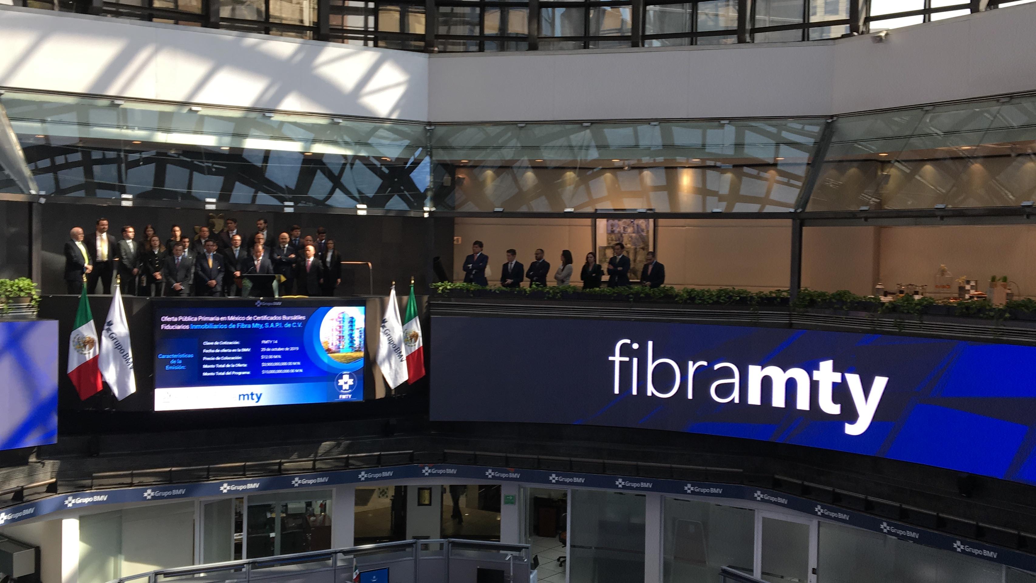 Fibra Mty emite bono por 115 mdd