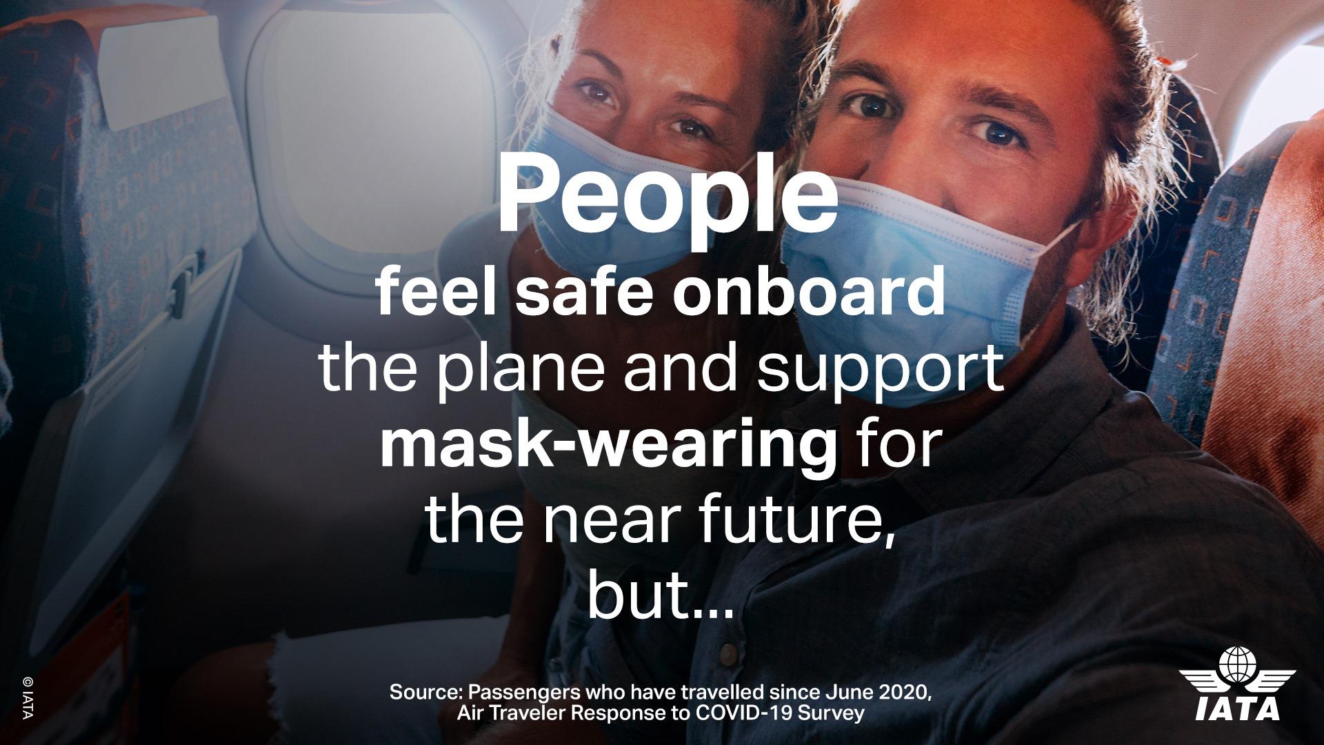 Rebeldía ante cubrebocas duplica casos de conducta físicamente abusiva en aviones: IATA