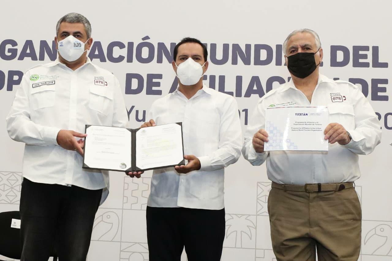 Gobierno de Yucatán solicita la afiliación de Consejo Consultivo de Turismo a la OMT