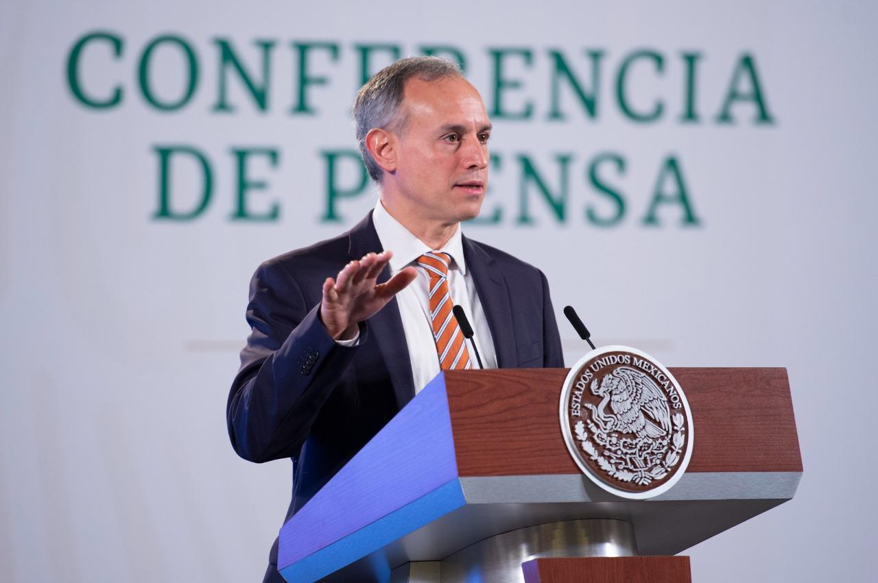 Hay tercera ola de COVID-19 en México, reconoce López-Gatell