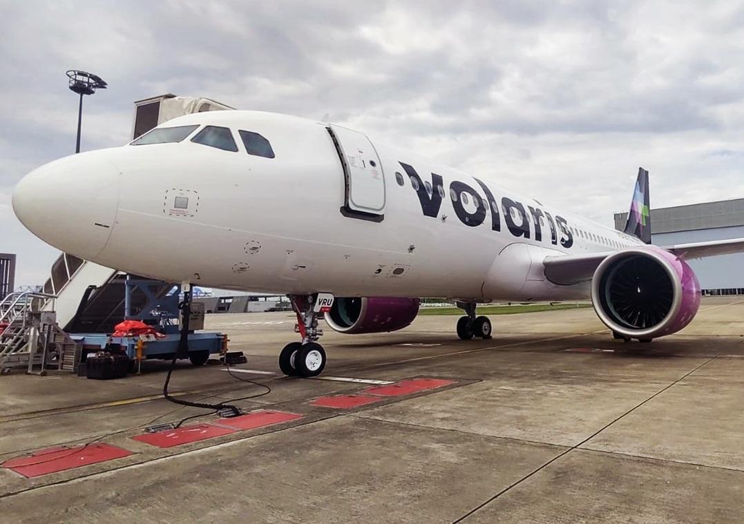 Ingresos totales de Volaris en 2T del año fueron de 11.5 mdp