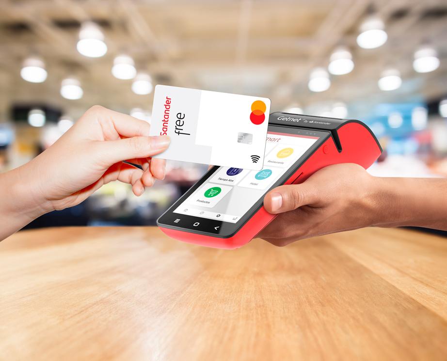 Santander México busca impulsar los pagos sin contacto