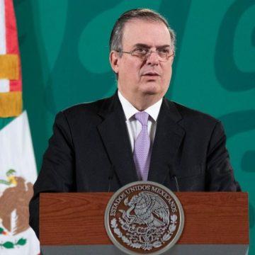 México y EU trabajarán en temas ambientales: Ebrard